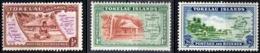 TOKELAU, PROTETTORATO NUOVA ZELANDA, SCENE LOCALI, 1948, FRANCOBOLLI NUOVI (MNH**) Mi. 1-3    Scott 1-3 - Tokelau