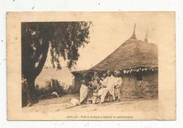 Cp , ETHIOPIE , AVALLE , Prêtre Indigéne Faisant Lecatéchisme , Voyagée , Imp. St Lazare , Dirmé Daoua - Ethiopie