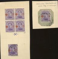 156 20c  153 Oblitéré Et Neufs * Cote 48,-E - 1918 Croix-Rouge