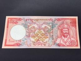 BHUTAN P26 500 NGULTRUM 2000 UNC - Bhoutan