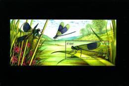 IRELAND/EIRE - 2009  DRAGONFLIES  MS   MINT NH - Blocchi & Foglietti