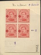 156 10c  153  Neufs  ** . Dépôt 1918. Avec Curiosité De Surcharge - 1918 Croix-Rouge