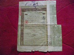 Italie / Italia :Titre De 5 Obligations  / Obbligazioni   Serie B / Societa Italiana Per Strade Ferrate Meridionali 1888 - Otros