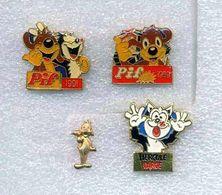 Lot 4 Pins : PIF ET HERCULE - Comics