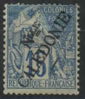 Nouvelle Calédonie (1892) N 26* (charniere) - Unused Stamps