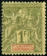 Nouvelle Caledonie (1892) N 53 * (charniere) - Unused Stamps