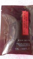 BURBERRY SPORT FOR MEN - Perfume Samples (testers)