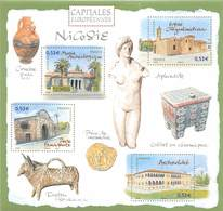 FRANCE CAPITALES EUROPENNES N° 101** NICOSIE - Blocs & Feuillets