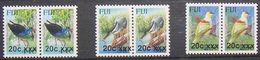 FIJI  -   BIRDS  - UCCELLI - 2008/2011/2014 - 6  V. -  MNH - - Pájaros