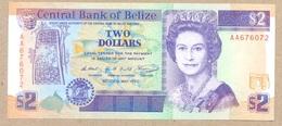 Belize 2 Dollars 1990  P52  UNC - Belize