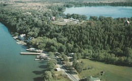 Lake On The Mountain, Visitors Can Look Down To Ferry Landing At Glenora, Ontario Highway 33 Kingston To Picton - Ontario