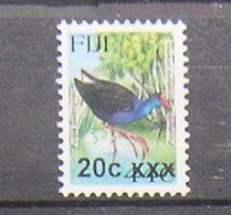FIJI  -   BIRDS  - UCCELLI -2014- SWAMPHEN - 1  V. -  MNH - - Pájaros