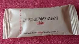 WHITE EMPORIO ARMANI - Echantillons (tubes Sur Carte)