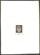 FRANCE 1942 - Armoiries  D'Orléans,Yvert#556  -  Epreuve D'Artiste , Signé - RARE ! - Epreuves D'artistes