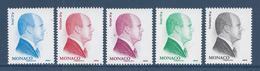 Monaco - YT N° 2851 à 2855 - Neuf Sans Charnière - 2012 - Monaco