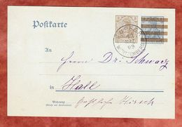 P 84 X Germania, Kupfer Nach Hall 1909 (57553) - Deutschland