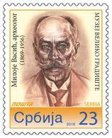 VELIKO GRADISTE PPM MILOJE VASIC FATHER OF SERBIAN ARCHEOLOGY RARE - Serbia