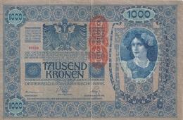 AUTRICHE 1000 KRONEN ND1919 VF P 59 - Austria