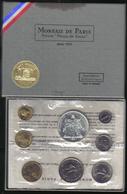 Francia France 1973 Serie Fleurs De Coins Monnaie De Paris  Fdc - Z. Uncirculated