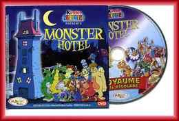 DVD Publicitaire Magic-Kinder Surprise : Monster Hotel - Royaume De La Rigolade - Notices