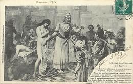 -ref X598- L Achat Des Epouses En Assyrie - Illustrateurs - Dessin Illustrateur - Arts -tableaux - Peinture   - - Non Classés