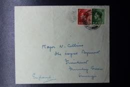 Palestine:  1936 Uprising Fieldpost Letter FPO 16 Nov 1936 To UK  1 Div. Headquarters Holdfast Hotel Jerusalem - Palestine