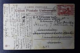 Palestine:  1914 Turkish Date Stamp Lake Tiberias 20 Papra Stamp - Palestine