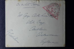 Palestine:  1917 54 Division Campaign Against Ottoman Rule,  UK Fieldpost D54  Active Service - Palästina