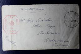 Palestine:  1918 Campaign Against Ottoman Rule,  UK Fieldpost APO  SZ 38 - Palestine