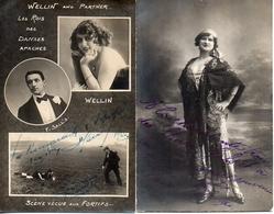 Cirque - Artiste - Autographe - Wellin And Partner Photo Louis Martin, Fg St Martin + Un Meme Photographe - Circus