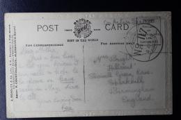 Palestine: April 1919 Postcard  ,  Indian  Fieldpost APO 117 (back) 60 Division  180 Brigade - Palestine