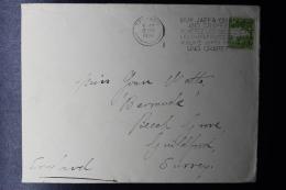 Palestine: 1936 Commercial Cover Tel Aviv -> Guildford  Cancel Jaffa Oranges And Grapefruits - Palestine