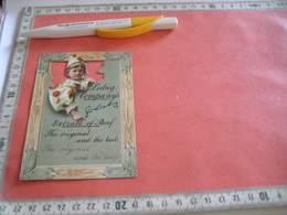 0542A   1 Trade Card : Liebig Nr 542A,  RRR,  Litho LEMCO, Die Cut Child LEFT & Orange Balls, In A Window,  R3 C1897 - Liebig
