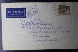"Palestine: 1941  Cover ""Hill 69"" Field Post Office FPO E 609  Australian Stamp - Palestine"