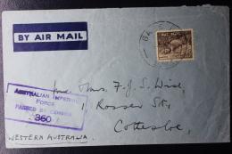 Palestine: 1941  Cover  Field Post Office FPO Base P.O. BW1  Australian Stamp - Palestine