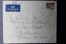 Palestine: 1941  Cover HQ 3rd Australian Brigade  Field Post Office FPO 3rd BDE WQ P.O. / M.3 - Palestine