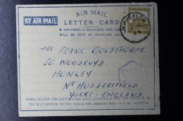 Palestine: 1944 Letter Card, Palestine Police, Jerusalem - Palestina