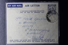 Palestine: 1945 Letter Card, Palestine Police, Jerusalem - Palestine