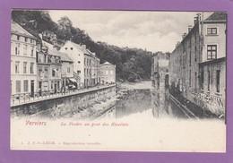 LA VESDRE AU PONT DES RECOLLETS VERS 1908. - Verviers