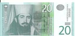 SERBIE 20 DINARA 2011 UNC P 55 A - Serbie