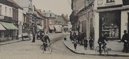 Quiévrain Rue Debast Avec Attelages (Couleur) - Quiévrain