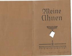 Ahnenausweis       Soupcanant La Carte D`identite - 1939-45