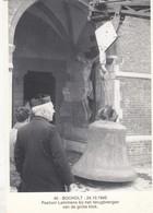 BOCHOLT / LIMBURG / VERPLAATSEN VAN DE KLOKKENTOREN 1943 / PASTOOR LEMMENS - Bocholt