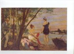 « Dimanche à Bougival» ROPS, Félicien - Illustration Par Le Musée F. Rops - Unclassified