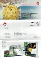 COMMUNICATION SERVICE PHILATÉLIQUE PORTUGAL ÉMISSION DES TIMBRES - THE LAUNCH OF THE BANCO CTT - MONEDA - MONNAIE - COIN - Monedas