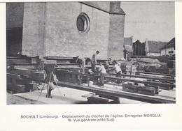 BOCHOLT / LIMBURG / VERPLAATSEN VAN DE KERKTOREN - Bocholt