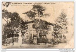 """D33  ARCACHON  Chalet Dans La Ville D' Hiver """""""""""""""""""""""""""""""" Alexandre Dumas """"""""""""""""""""""""""""""""  ..... - Arcachon"""