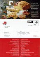 COMMUNICATION SERVICE PHILATÉLIQUE PORTUGAL ÉMISSION DES TIMBRES - PAIN Pâtisseries - Alimentación