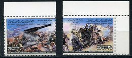 Y85 LIBYA. 1980 817-818 Resistance Of Italian Colonization - The Battle Of Fundun Al Shibani. HORSES - Horses