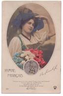 2602 - Cp Patriotique - Hymne Français - Guerre De 14-18 - N°3864 - éd. Croissant - Ligue Des Patriotes Quand Même - - Regimenten